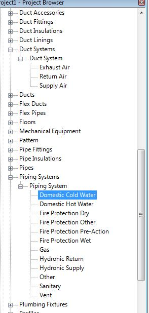 Applied Software Blog: Duct and Pipe Systems in Revit MEP 2012