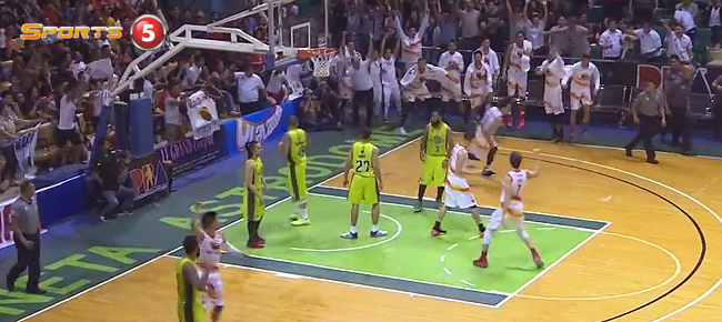 Mark Borboran's Game-Winning Tip vs. GlobalPort (VIDEO)