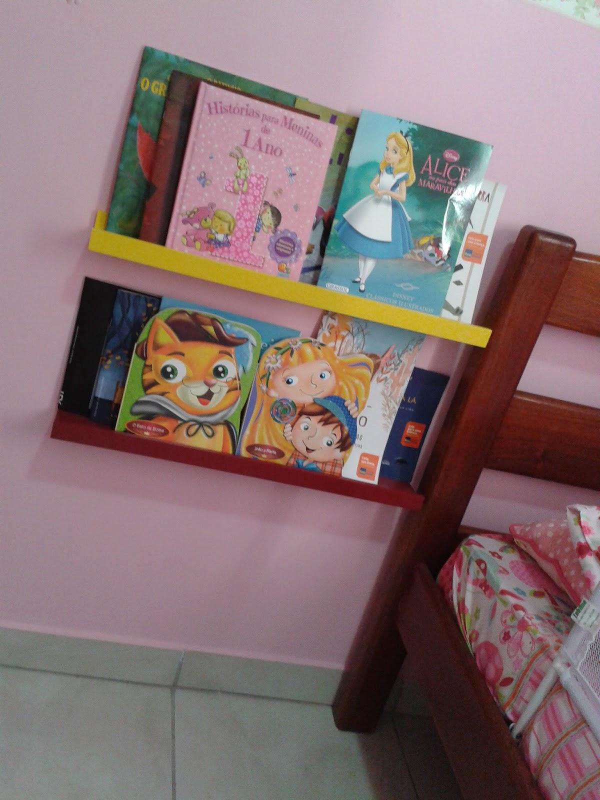 No mundo maravilhoso de Alice O novo quarto da Lili