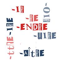 conjugaison grammaire francais, verbes 2ème et 3ème groupe