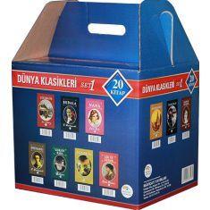 Dünya Klasikleri Set 1 (20 Kitap) Maviçatı Yayınları