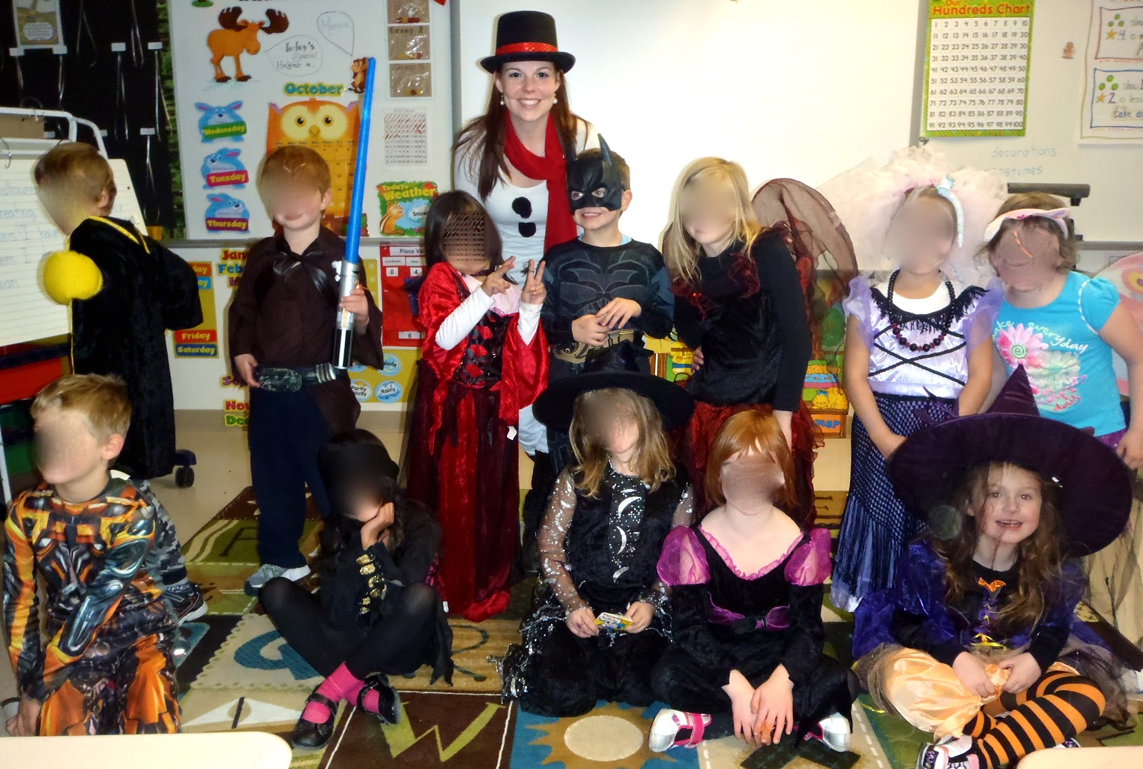 Fun With Firsties Halloween In November D Some Other