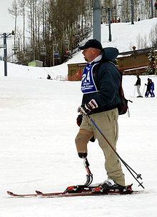 Auch im Behindertensport spielt Skifahren eine Rolle.