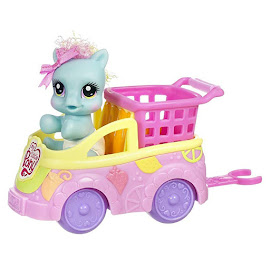 My Little Pony Rainbow Dash Newborn Cuties and Moms Shopping Day with Mom G3.5 Pony