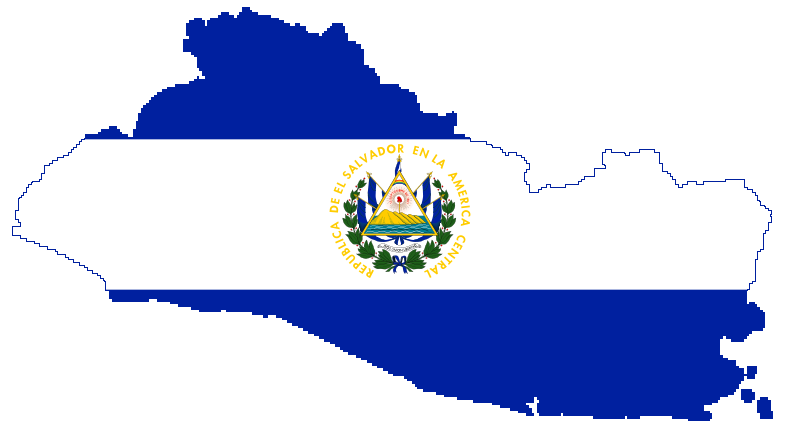 3d Broken Glass Wallpapers Graafix Flag Of El Salvador
