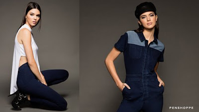 Kendall Jenner is DenimLab Darling for Penshoppe