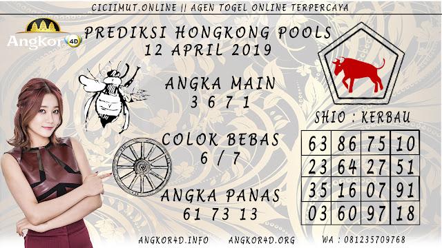 Prediksi Angka Jitu HONGKONG POOLS 12 APRIL 2019