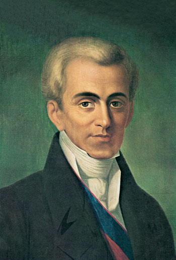 Ioannis Kapodistrias first governer of Independent Greece, The First Hellenic Republic