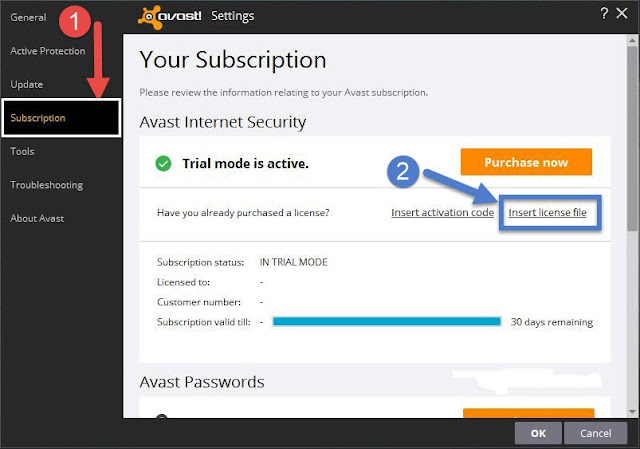 Avast Internet Security 2017 Activation Code