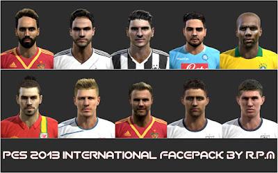 Faces: Stones, Mata, Maicon, Insigne, Jonas Hector, Mario Gomez, Durica, Carvajal, Cahill, Bale, pes 2013