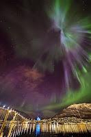 Aurora over Tromsø