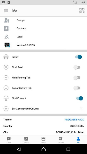 Bbm Mod White Offifial V3.3.12.135 Apk Update Terbaru Clone Unclone