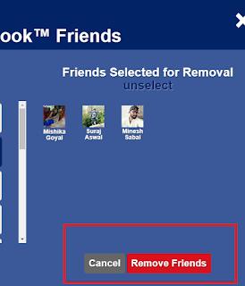 unfriend all facebook friends