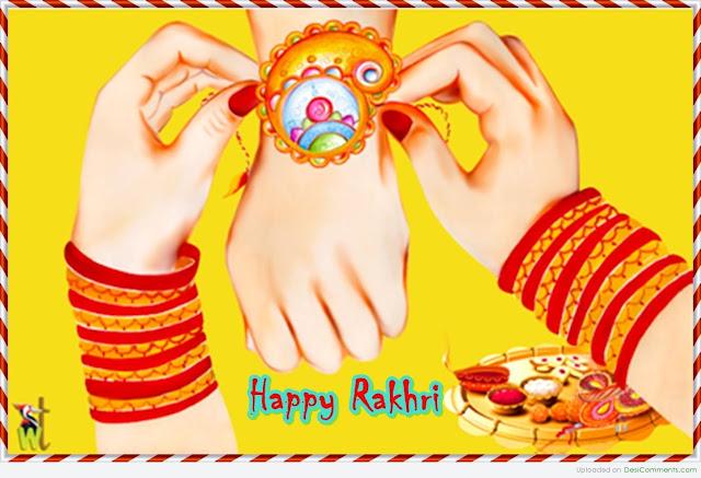 Happy Rakhi-Raksha Bandan Day