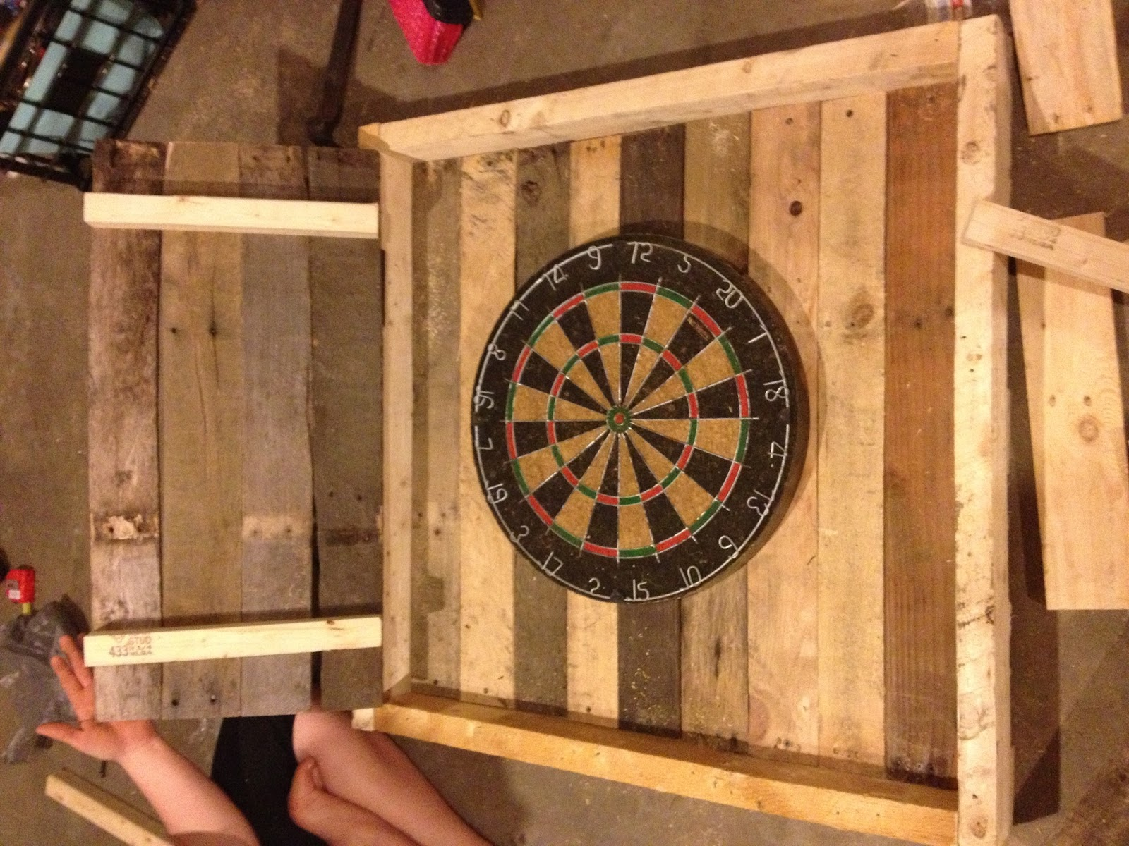 Awesome Build Your Own Dart Board Cabinet
