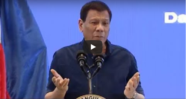 LOOK: Duterte Binugbog Sarado ang Banat sa mga Dilawan