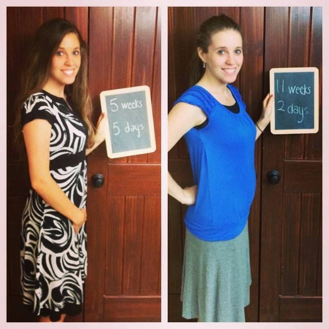 Jill is 11 weeks and 2 days pregnant with her first child! We might move