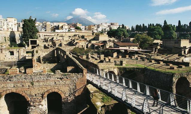 Ercolano: Gita Fuoriporta da Roma in Pullman agli Scavi
