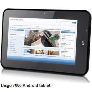 Disgo 7000 tablet