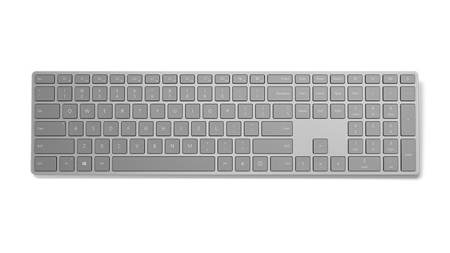Microsoft Releases Keyboard With Fingerprint Scanner