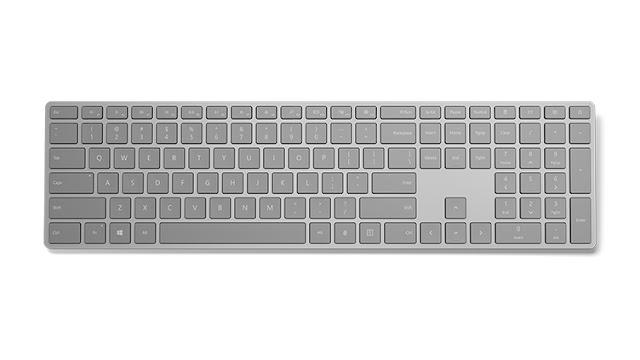 Microsoft Releases Keyboard With Fingerprint Scanner