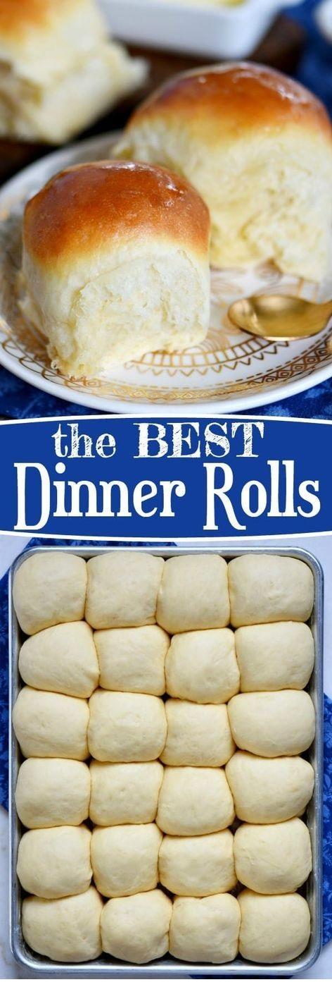 The Best Dinner Rolls