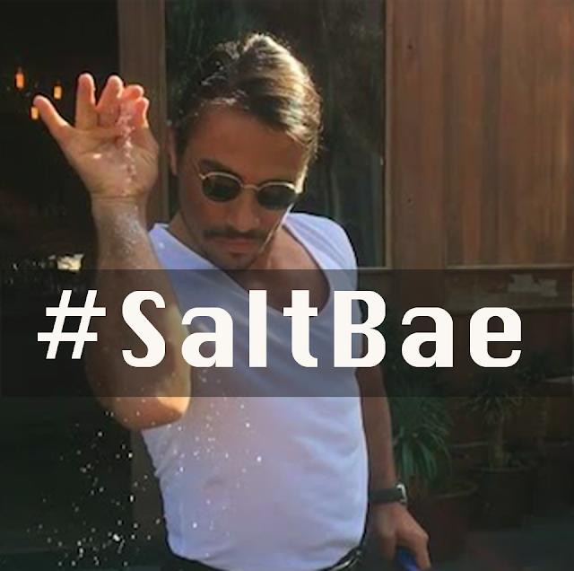 #SaltBae is 2017's First Meme