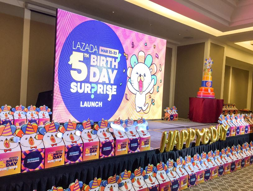 Lazada Philippines celebrates 5th Anniversary with Biggest Surprise Sale