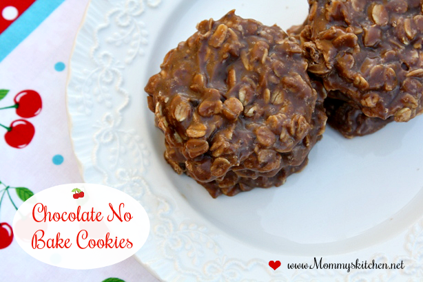 Old Fashioned Chocolate No Bake Cookies