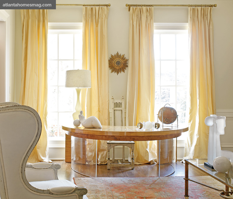 Custom Home Office Designs Classy Design Willams Std: Mix And Chic: Home Tour- A Designer's Fresh And Elegant
