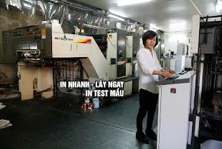 In test - in nhanh kts - in lấy ngay tại HN