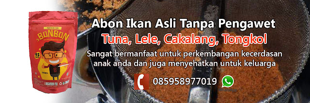 supplier abon ikan