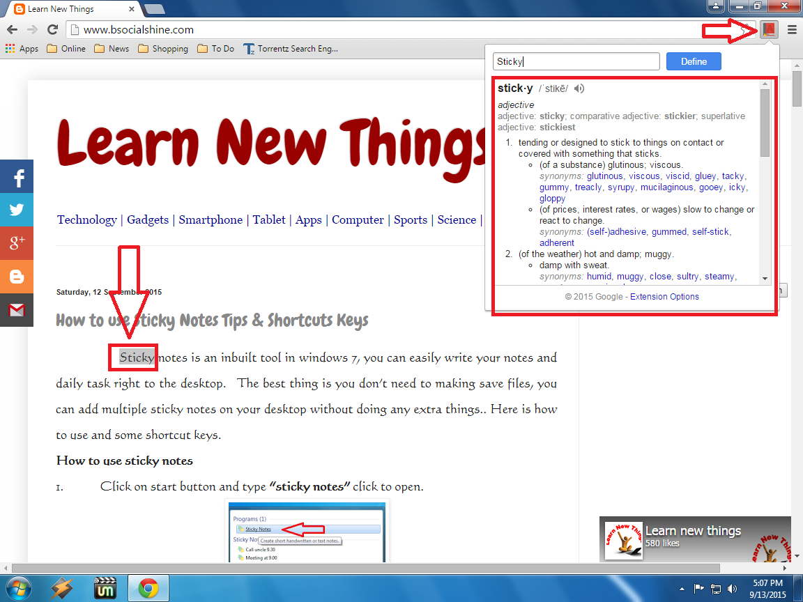 Learn New Things: Best Dictionary for Websites, Get Words Definition