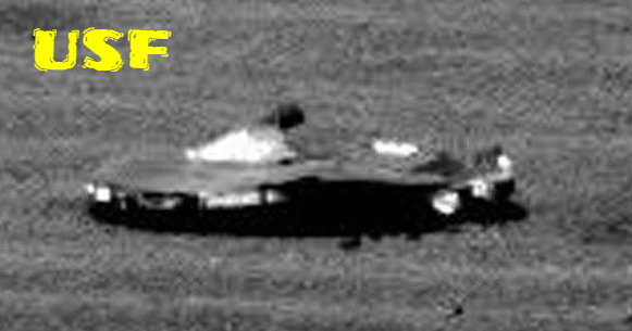 Mars Rover Snaps High Definition Image Of UFO Alien Craft