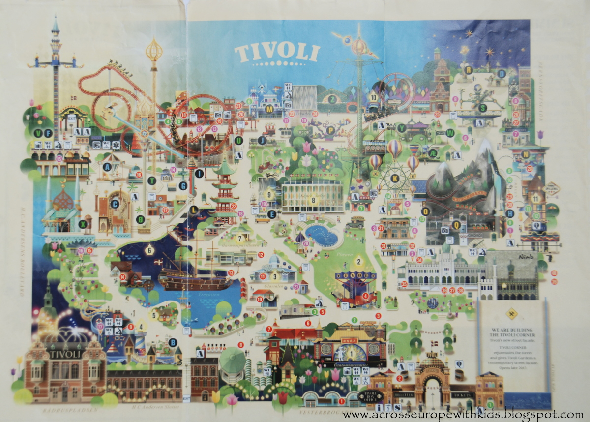 Tivoli Gardens Price Of Rides Tivoli Gardens In Copenhagen Part Ii | Across Europe With Kids