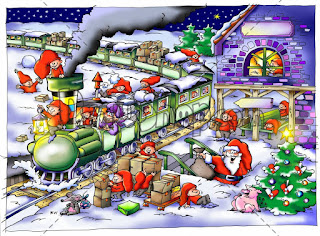 Cartoon-drawings-of-Santa-train-with-elves-riding-on-top-image.jpg