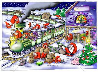 Cartoon-drawings-of-Santa-train-with-elves-riding-on-top-image.jpg