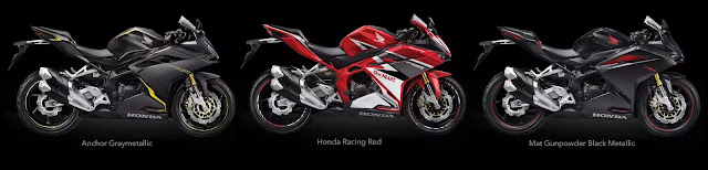 Pilihan warna Honda All New CBR250RR