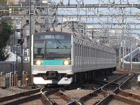 【ダイヤ改正で新設】E233系2000番台の通勤準急 松戸行き