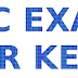 LDC EXAM ANSWER KEY ERNAKULAM 15-07-2017