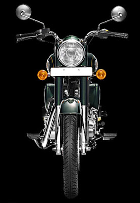 Royal Enfield 350 UCE front image