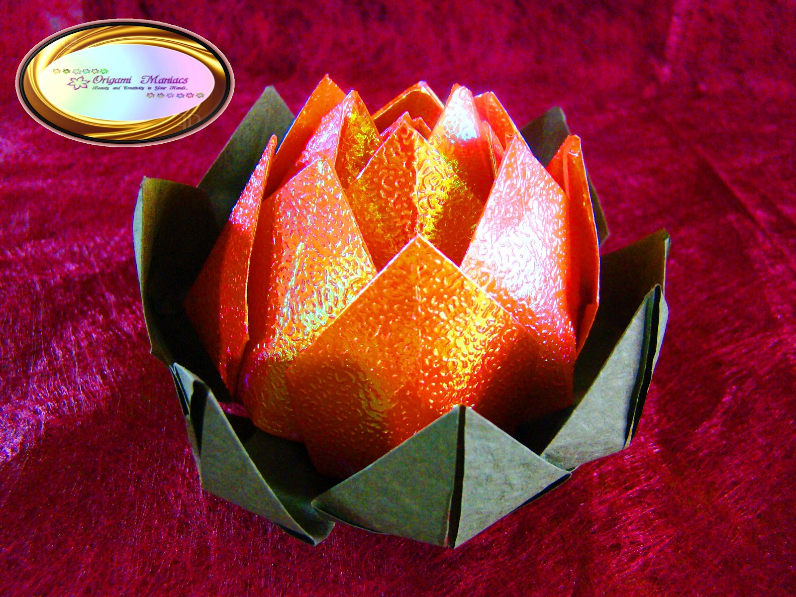 Origami Maniacs: Beautiful Origami Lotus Flower