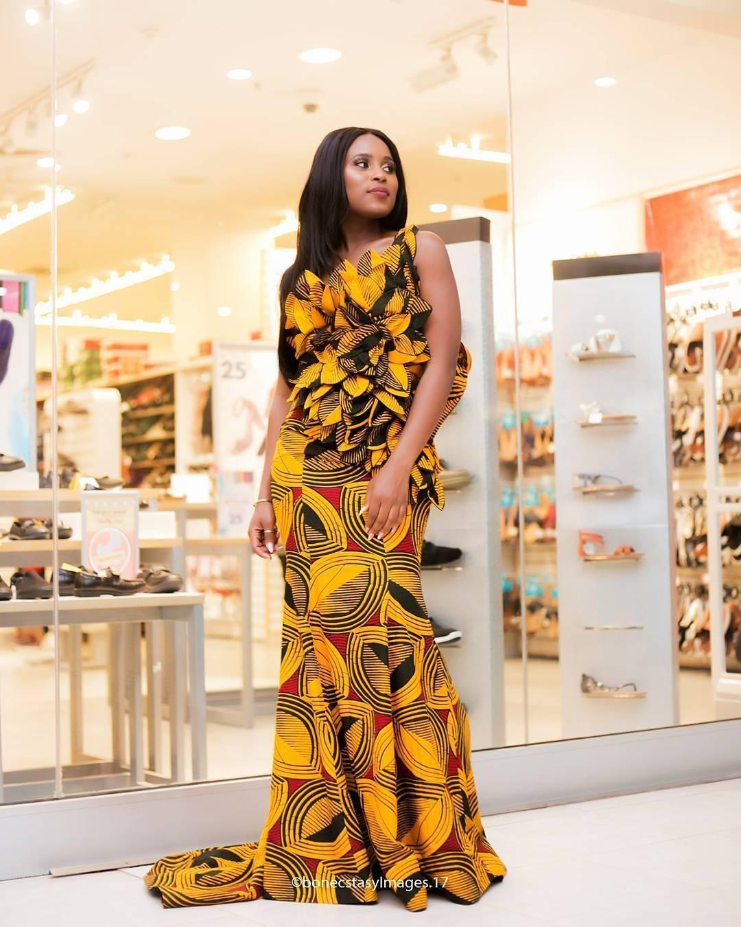 Latest Ankara Long Gown Styles 2018 Latest Ankara Trends