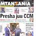 HAYA HAPA MAGAZETI YA LEO JUMATATU MEI 28,2018 - NDANI NA NJE YA TANZANIA