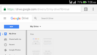 sign in to Google drive account