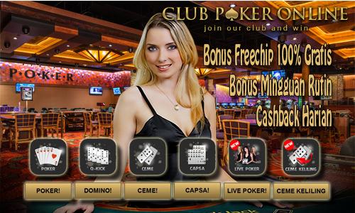 Main poker tanpa deposit