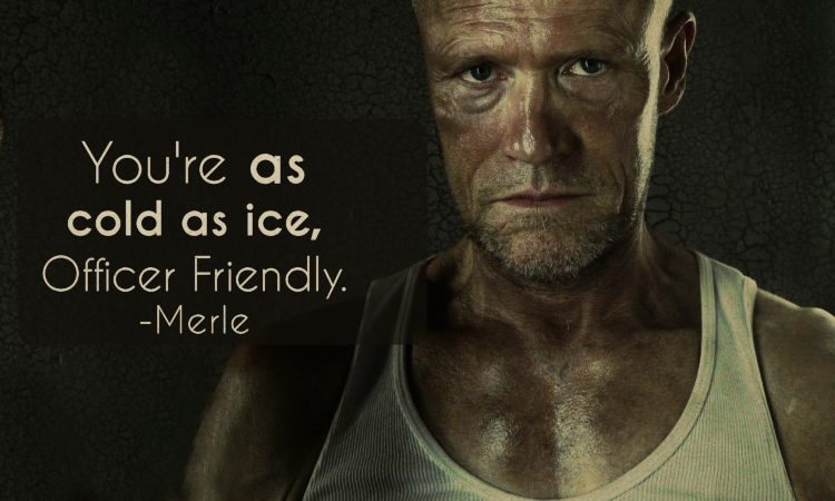 The Walking Dead Quotes Merle