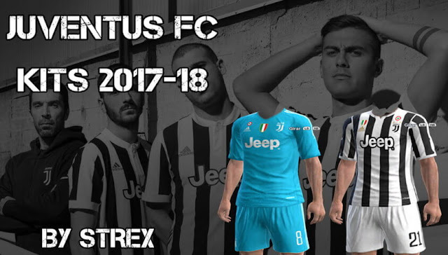 Juventus Kit 2017-18 PES 2013