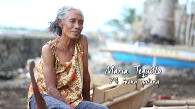 Despite Her Old Age, This Woman Still Spends Her Everyday Life In Collecting Coins Thrown By Ferry Passengers!
