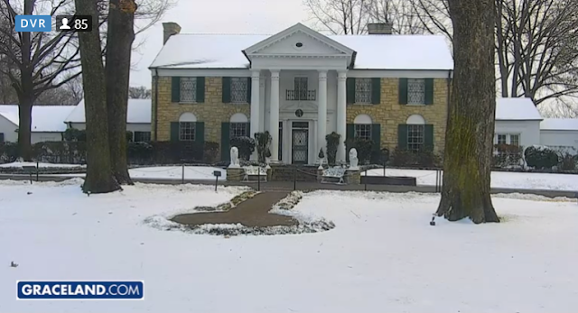 elvis graceland snow